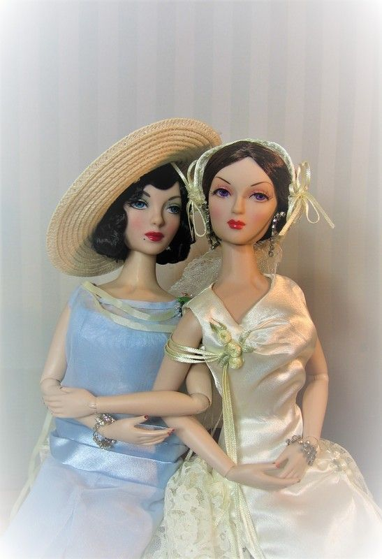 THE STUDIO COMMISSARY: Theme: Some beautiful blushing brides...(16 PICS)  -  Posted by Dennis L Norris on June 14, 2019, 10:51 am.  While I am not generally big on collecting bride dolls, I do love the few bride ensembles we got from Ashton-Drake. Surprisingly, Integrity Toys and JamieShow have never produced a bride doll in the Gene line. These are all older archive pics, including some of the first photos I started taking of my Gene dolls was back in 2006. #bridedolls THE STUDIO COMMISSARY: #bridedolls