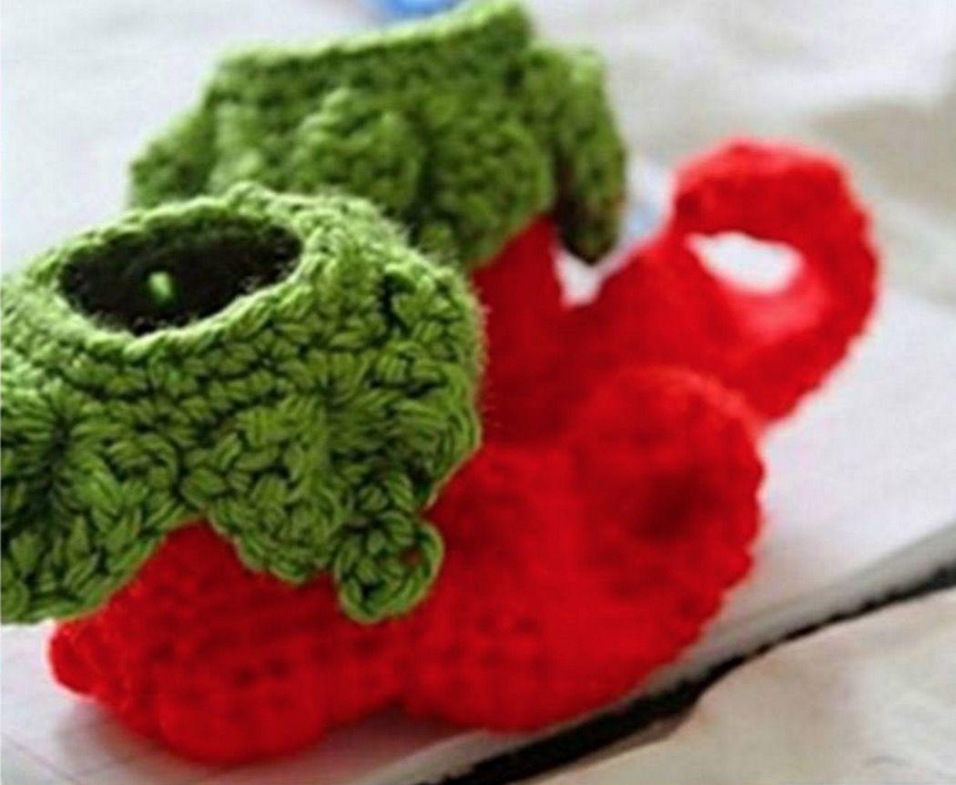 Crochet Elf Slippers - Free Crochet