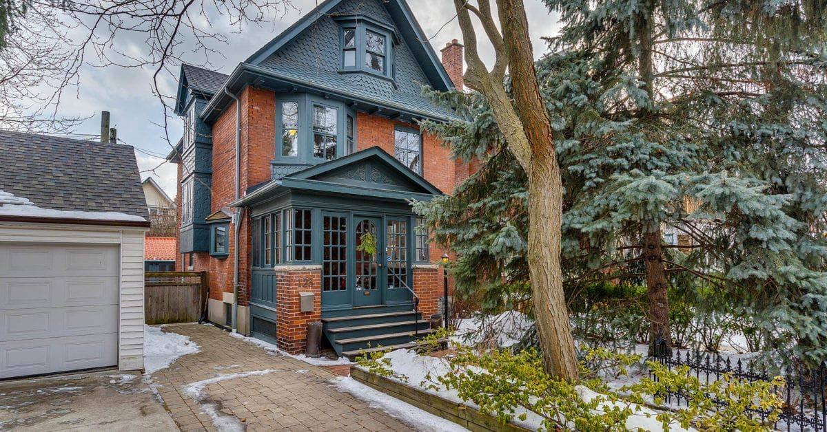 2 Million For A Well Preserved Older Home In Roncesvalles It S Our House Of The Week Https Torontolife Com Toronto Houses Real Estate Houses Old Houses