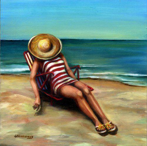 Bathing Beauty 1 Null Http Www Amazon Com Dp B00ezgxmcs Ref Cm Sw R Pi Dp Qklosb1y7qm1hx9y Beach Art Painting Black Framed Wall Art