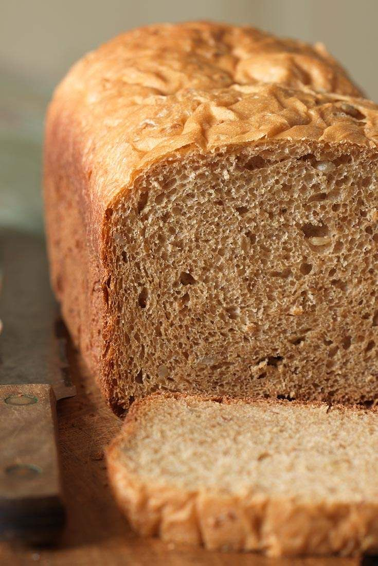 100 Whole Wheat Bread For The Bread Machine Recipe 100 Whole