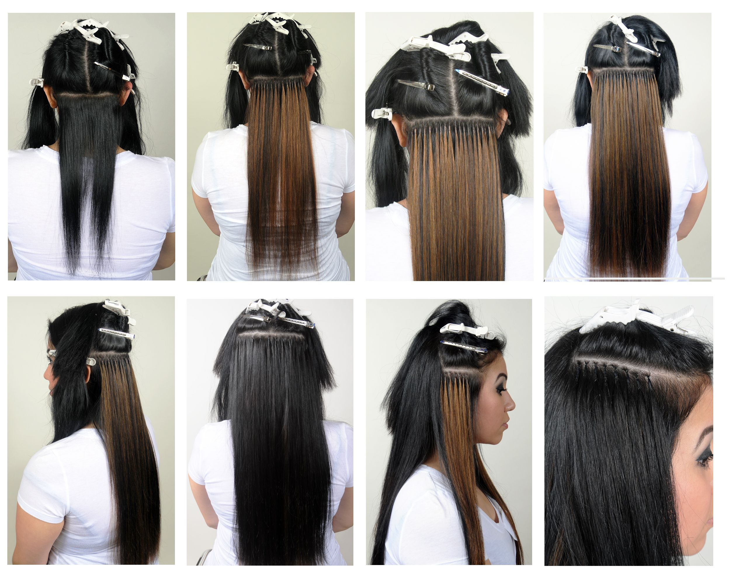 Fusion Hair Styles: African American Long Hairstyles With Bangs Fusion Hair