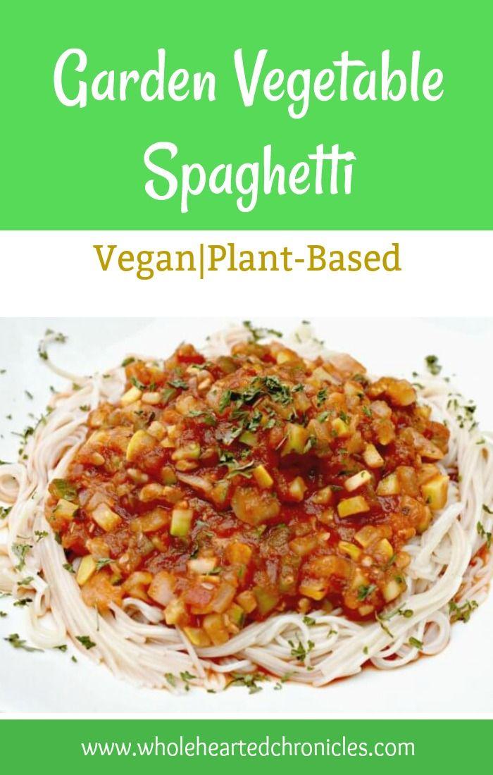 Garden vegetable spaghetti top blogs forumfinder Images