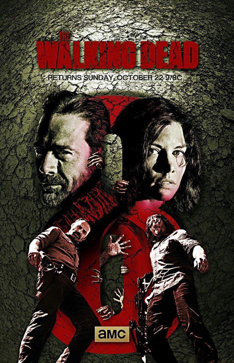 Season 8 Poster Art The Walking Dead Negan Walking Dead
