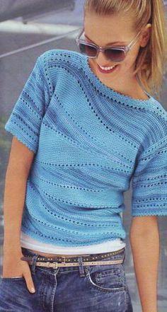 tricô no estilo balanço para iniciantes