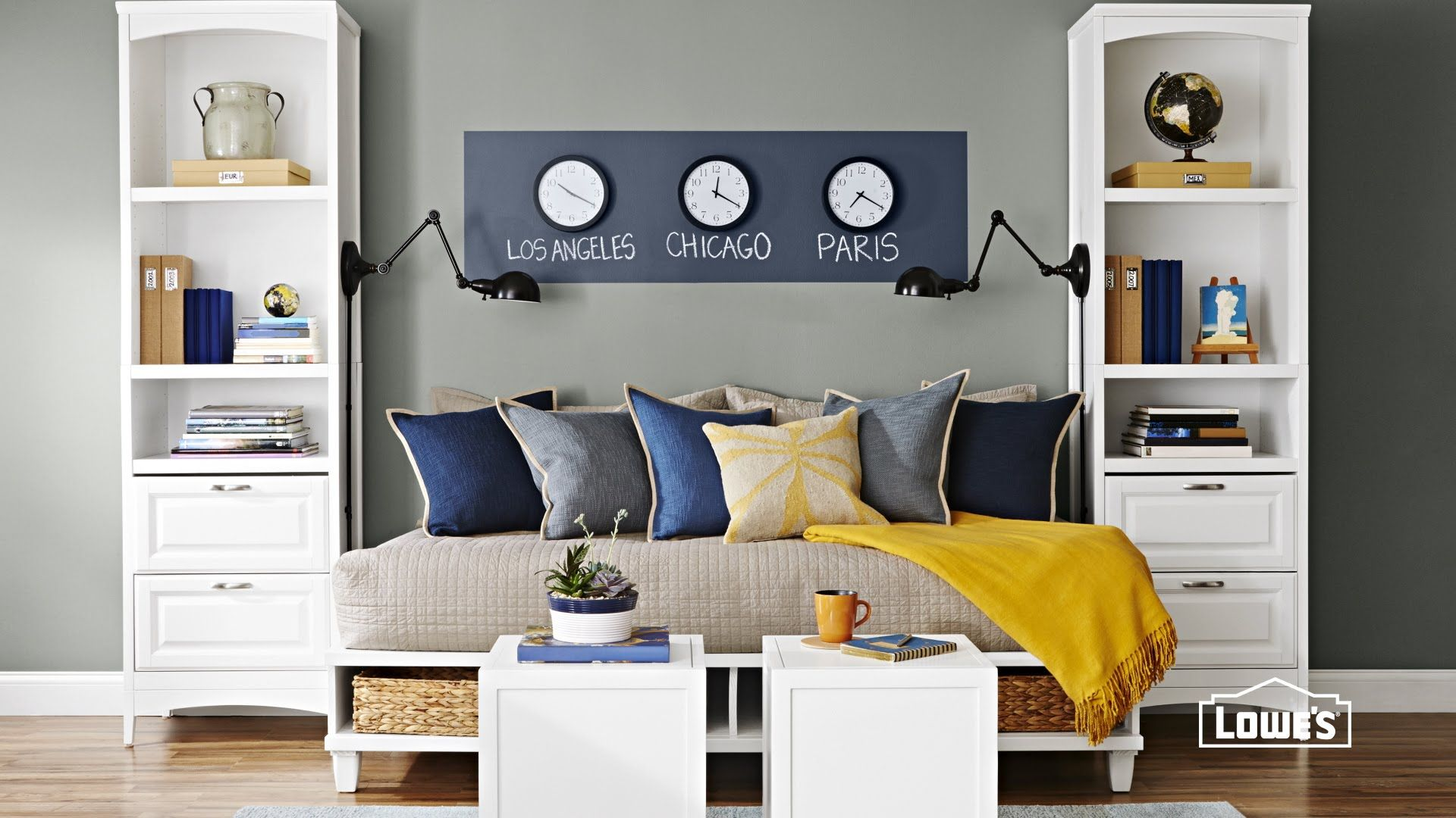 5 Ideas For Decorating A Guest Room Double Up A Guest Bedroom As A Home Office A Living Room Or A With Images Small Guest Bedroom Small Guest Rooms Guest Bedroom Office