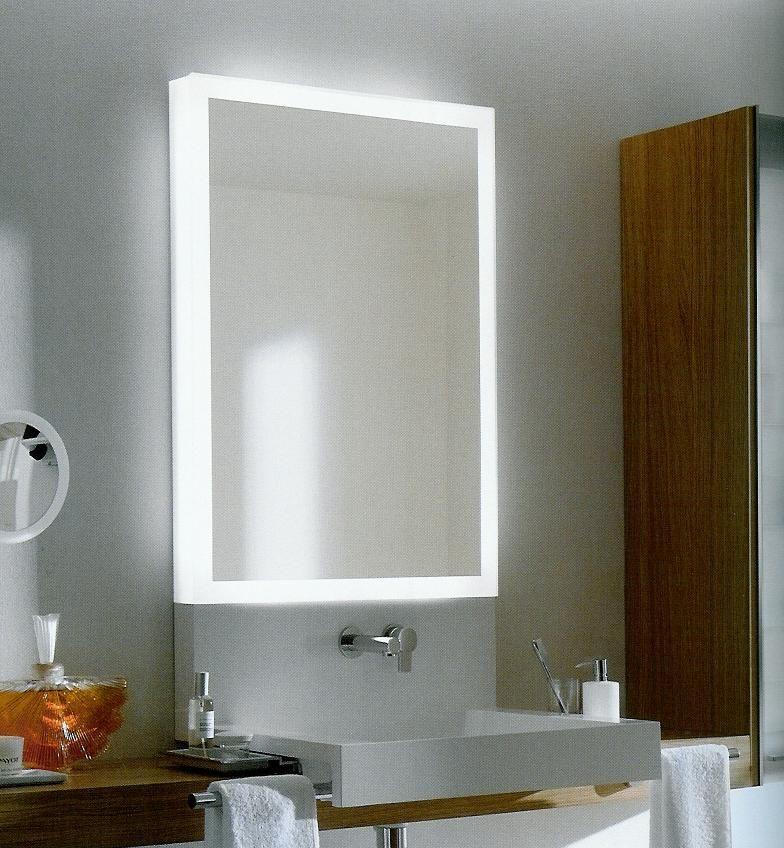 Espejos con luz integrada muebles pinterest espejo con luces espejo y lamparas para ba o - Luz para banos ...