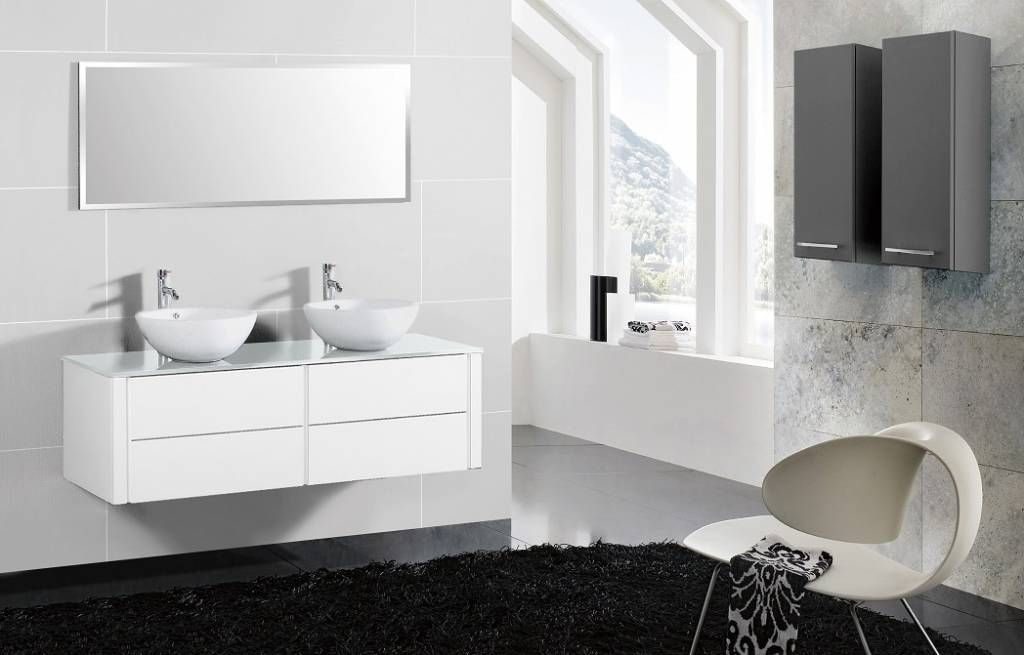 badezimmerm bel mit aufsatzwaschbecken icnib. Black Bedroom Furniture Sets. Home Design Ideas