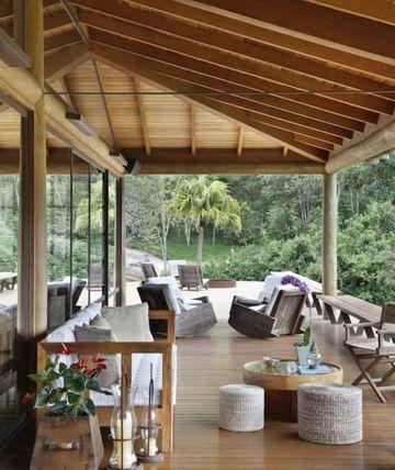 Terrasse design : les nouvelles clés du charme outdoor | porch ideas ...