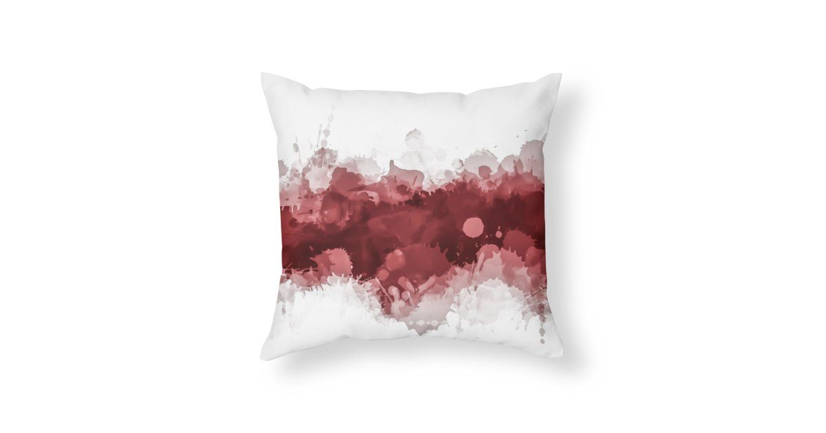 Ruby Red Modern Abstract Wenzelganny S Artist