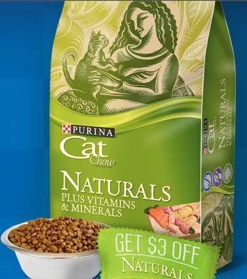 Naturals Cat Food Coupon