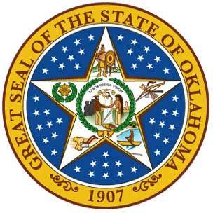 Seal Of Oklahoma Oklahoma Oklahoma History Oklahoma State