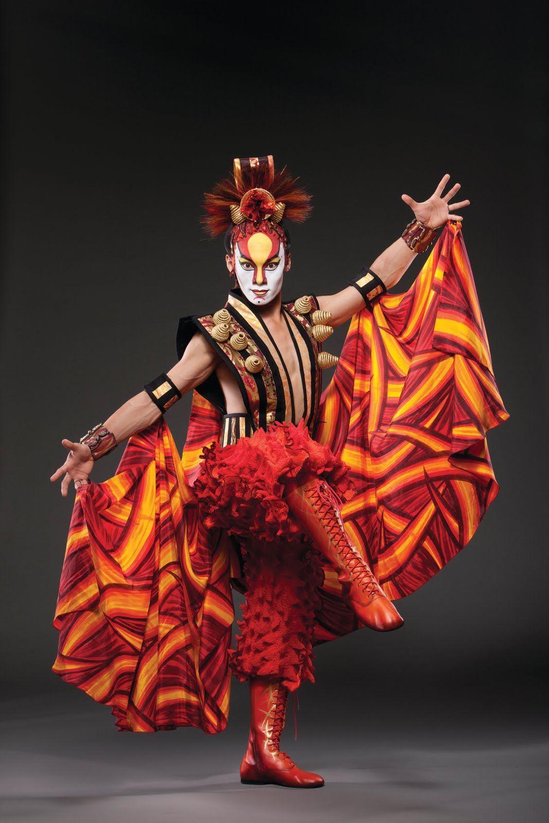Circo soleil espect culo que el cirque du soleil for Espectaculo circo de soleil
