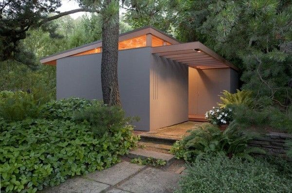 Charmant Pietro Belluschi Tiny House: Famous Architect And Son Design Teahouses In  Portland