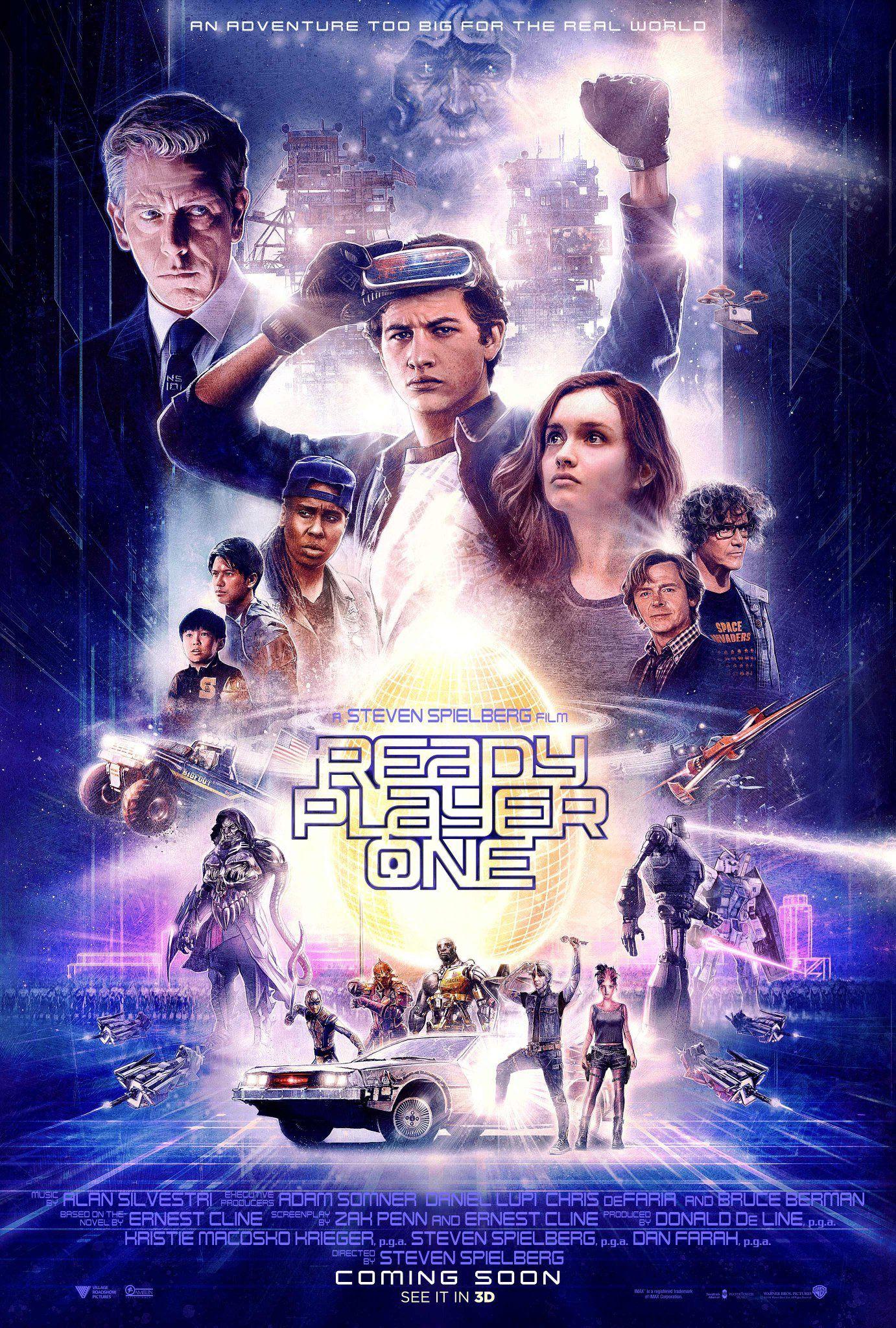 By Drew Struzan Ready Player One Movie Ready Player One Full Movies Online Free