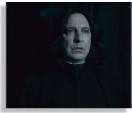 Severus Sees Charity Hanging There Over The Table As Voldermort Waits For Him To Arrive Harry Potter Severus Snape Harry Potter Harry Potter Severus Snape