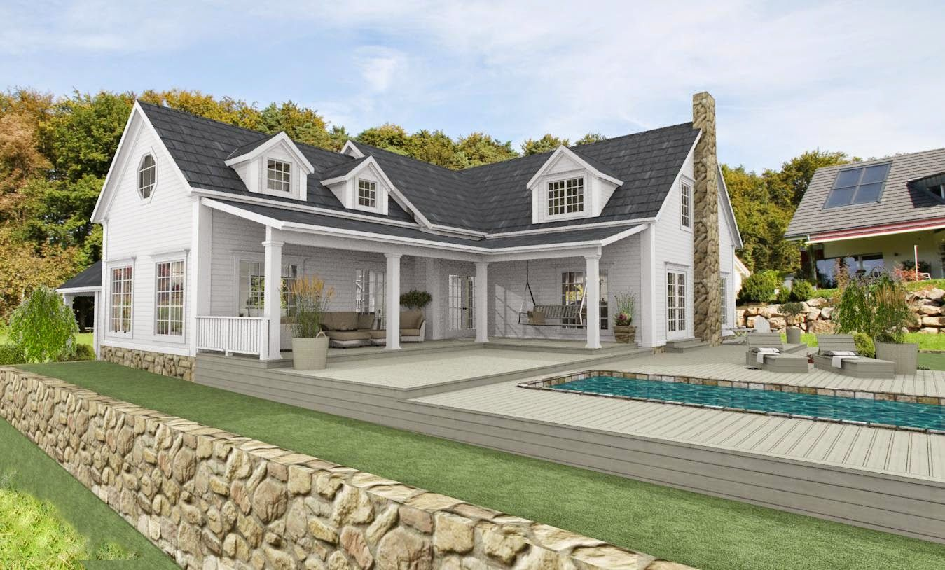 """Den Vita Drömgården: """"Mitt New England hus"""" flyttar utomlands"""