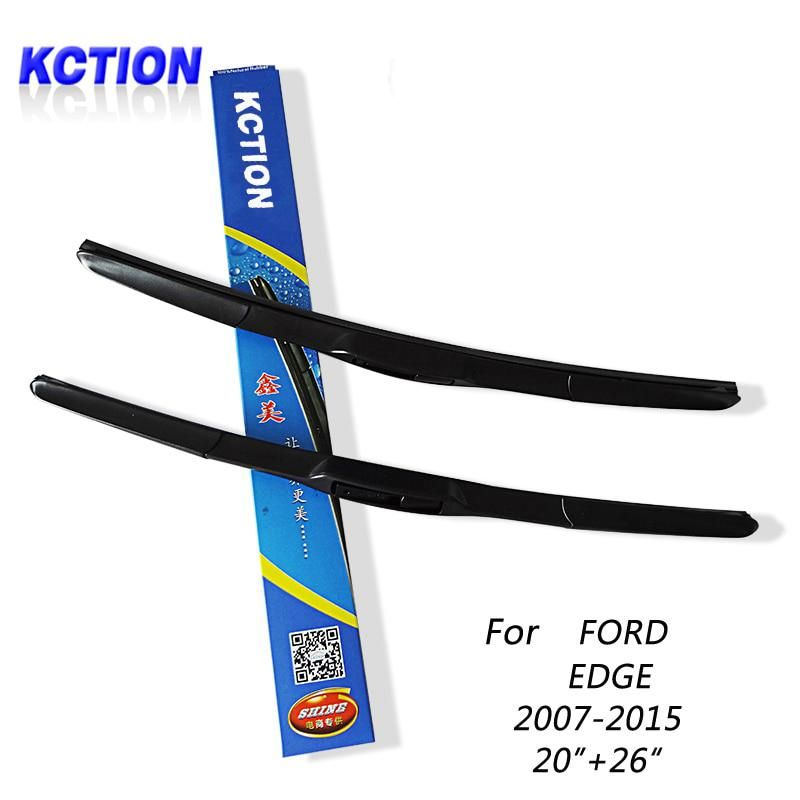 Car Windshield Wiper Blade For Ford Edge  Natural Rubber Three Segmental Type Car Accessories Yesterdays Price Us