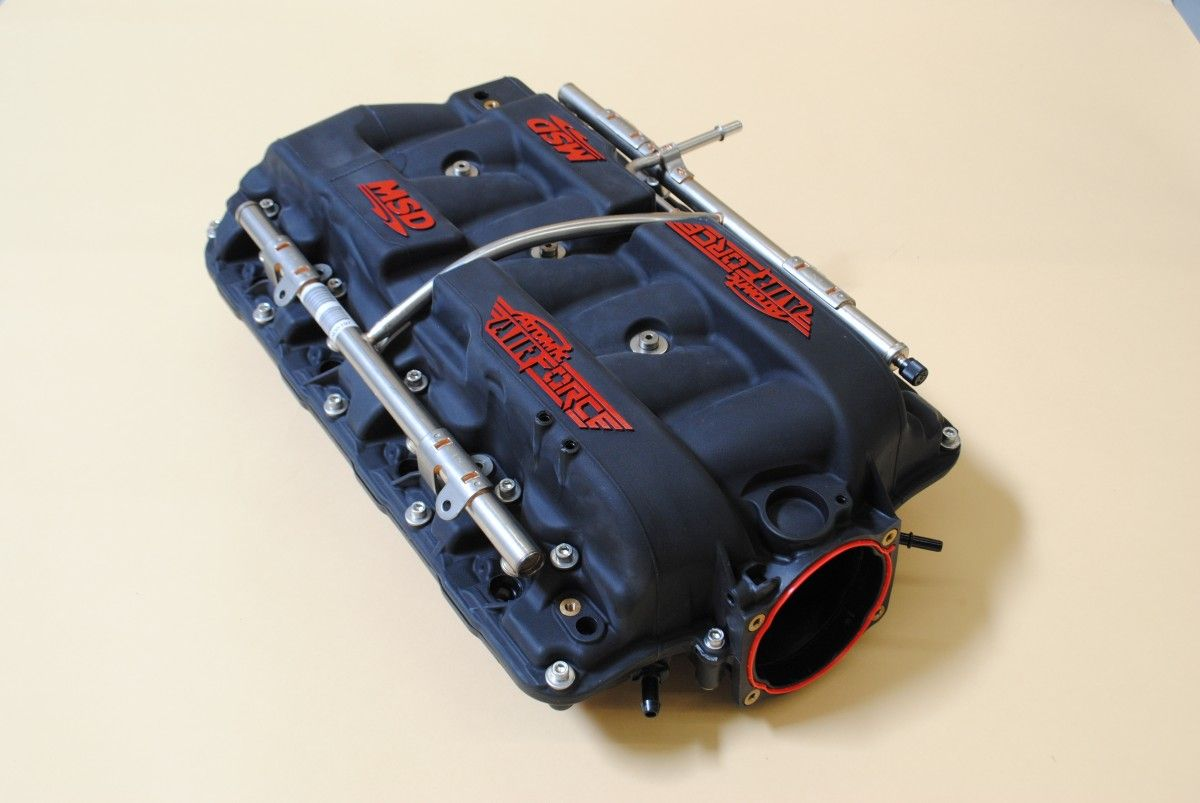 The New MSD Atomic AirForce LS7 Intake Makes Big Power Gains On The