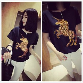 http://www.aliexpress.com/store/product/Galloping-Horse-sequins-embroidery-exquisite-wild-ponies-TEE/1245136_1889299666.html