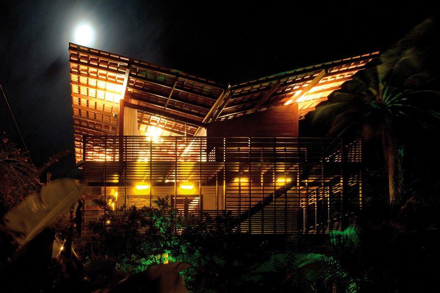 arquitectura, diseño, casas | Bamboos, maderas, piedras, tierras y ...