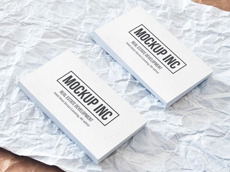 FREEBIE: Simple Business Cards by AlienValley