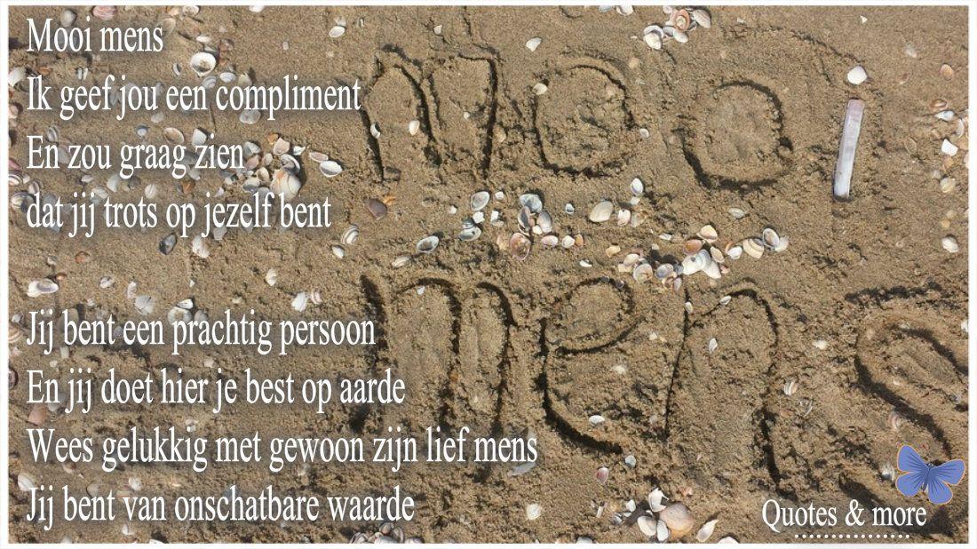 Mooi Mens 3 Complimenten Citaten En Gelukkig