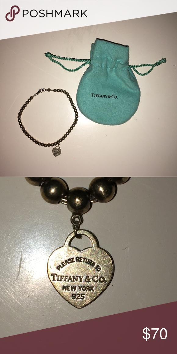 378c3d5aa6bf Return to Tiffany Bracelet I m selling a Tiffany   Co bracelet. The  bracelet has a sterling silver tag. Bag is included in purchase. Tiffany    Co. Jewelry ...