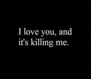 killing me..