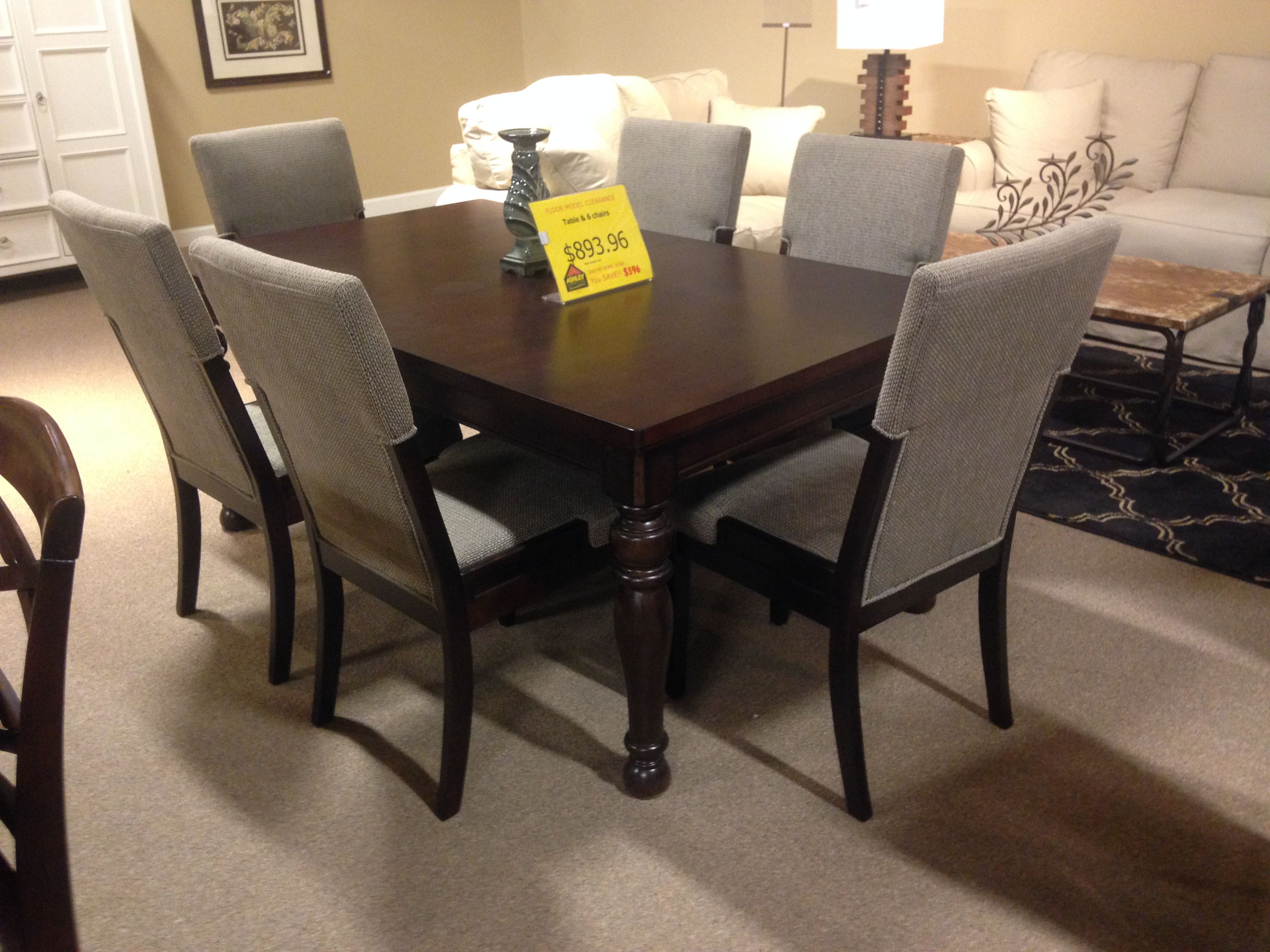 On Clearance At Ashleyfurniture At Richland Wa Home Design Chair Myhome Mydesign Diningroom Table Sustainable Furniture Ashley Furniture House Styles