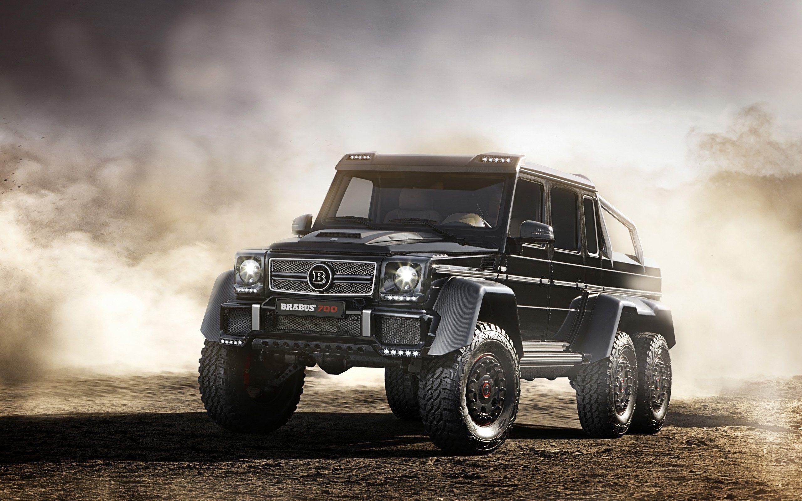 2014 Brabus Mercedes Benz B63s 700 6x6 Pickup Suv Tuning Offroad G