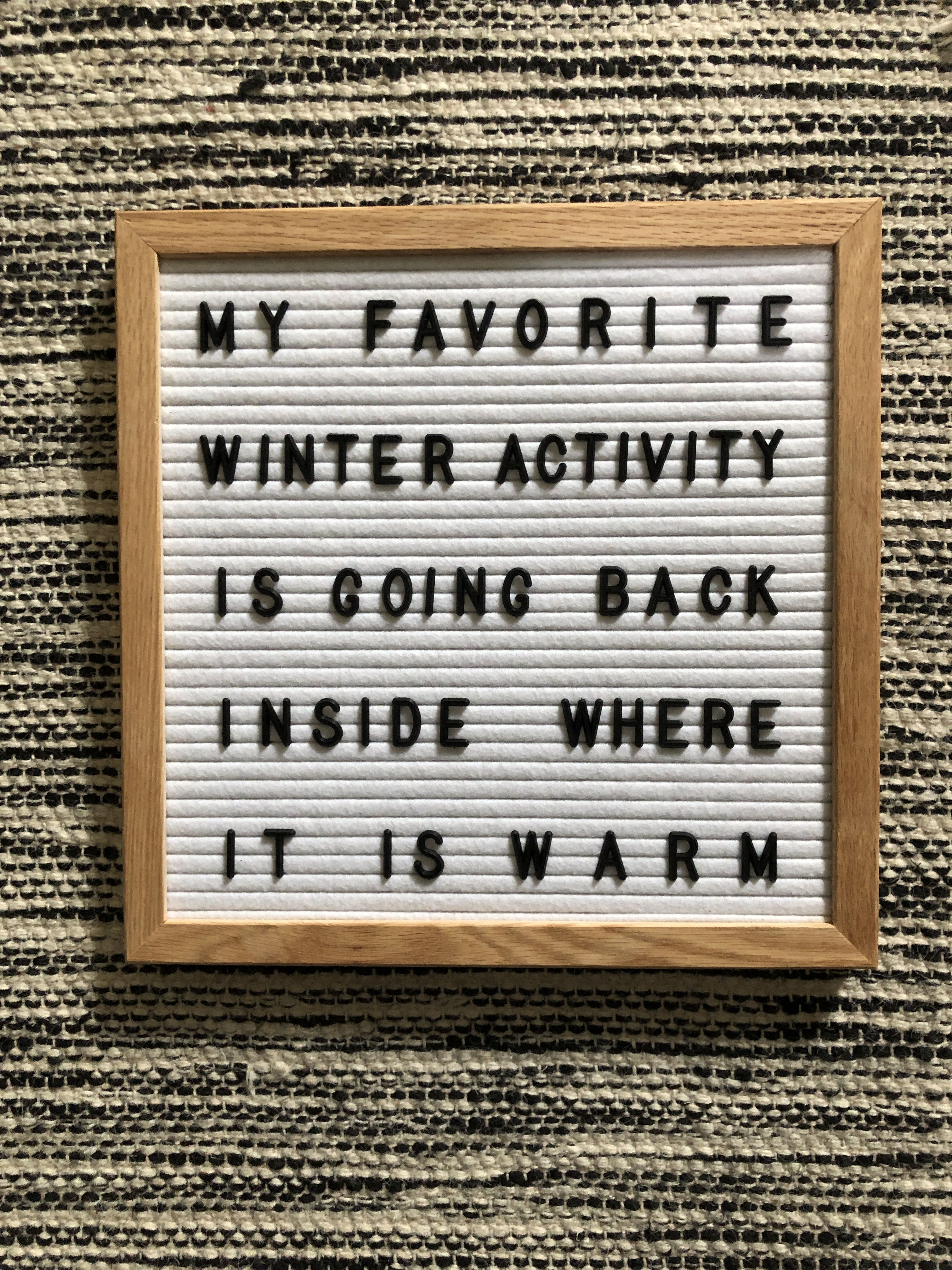 Winter Letter Board Message Board Quotes Felt Letter Board Positive Quotes
