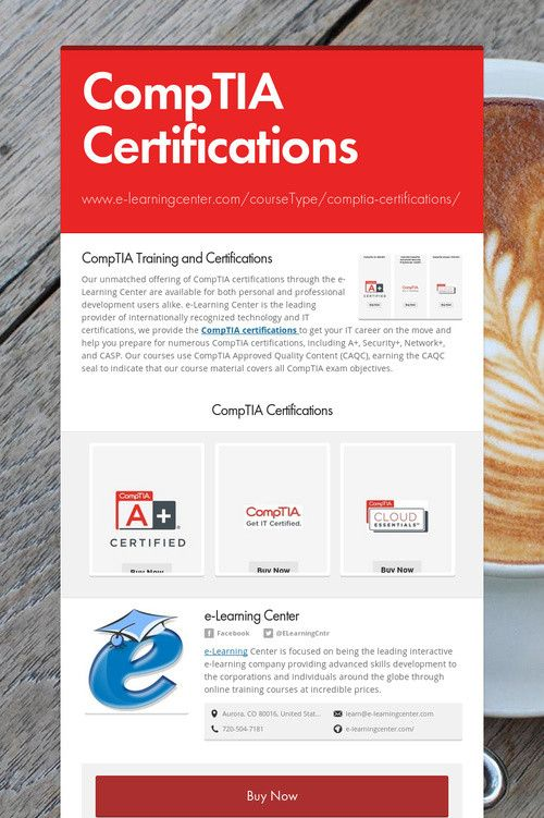 Comptia Certifications Security Certifications Pinterest