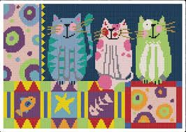 Image result for cross stitch patterns using hand dyed threads
