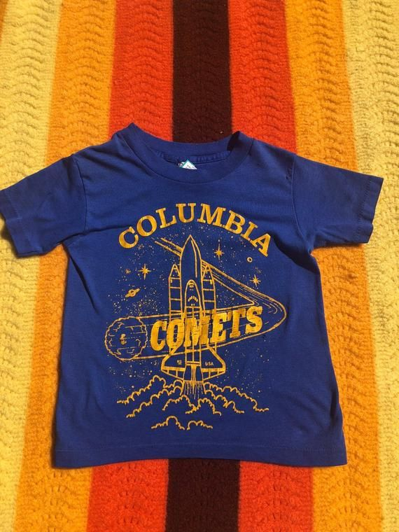 466773fd5c6 Vintage Columbia Comets Kid's T-Shirt Columbia, Graphic Tees, Colombia,  Graphic T