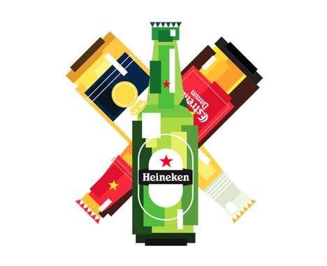 24 beers branded