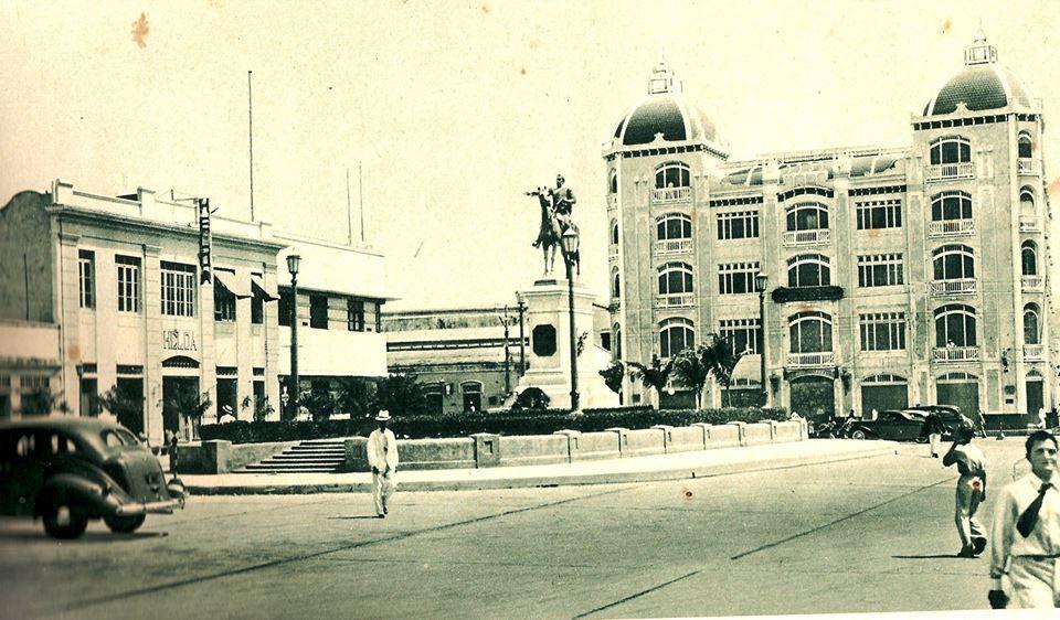 Bella fotografia del Edificio Palma año 1951