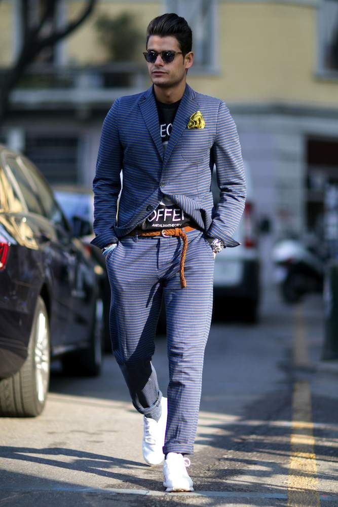 Milan Men's Fashion Week Fall 2015 Street Style