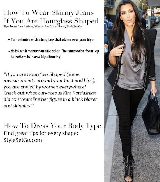 57b8e731cc Tips for How To Wear Skinny Jeans if you are an Hourglass Shape from  StyleSetGo.com blog