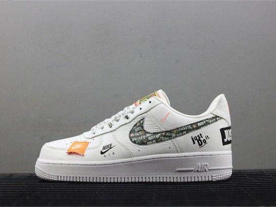 5d27f1c9a9b8 Nike Air Force 1 07 Just Do it Pack White AR7719-100