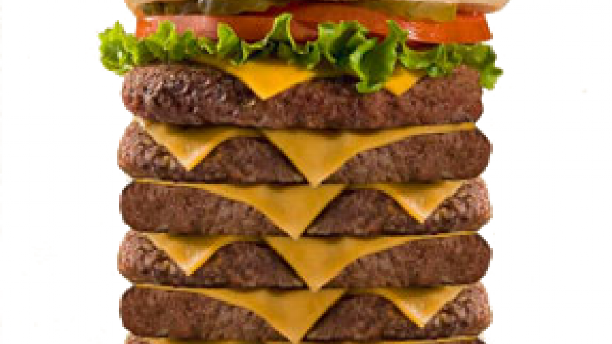 America's Biggest Burgers ❤ DiamondB! Pinned ❤