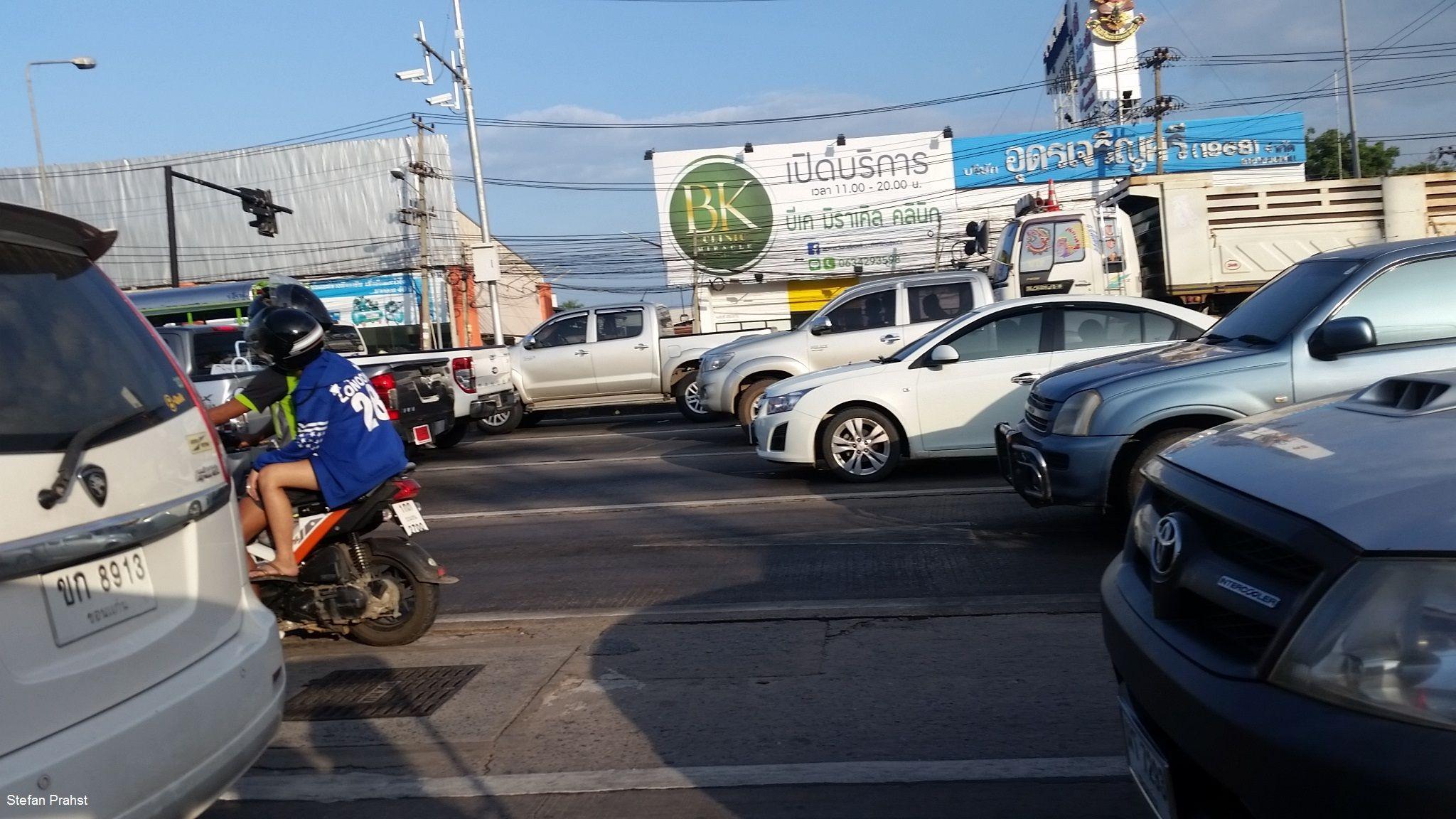Khon Kaen in Thailand, Straßen, Umland, Eindrücke, Märkte