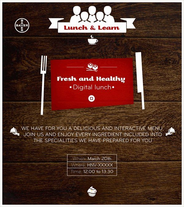 lunch and learn invite template unique 15 lunch