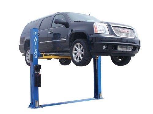 Atlas Bp8000 2 Post Bottom Plate Car Lift 8 000lbs Capacity Car Lifts 2 Post Car Lift Hydraulic Car Lift