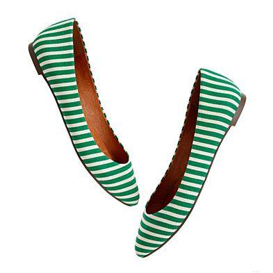 The Bungalow Stripe Sidewalk Skimmer