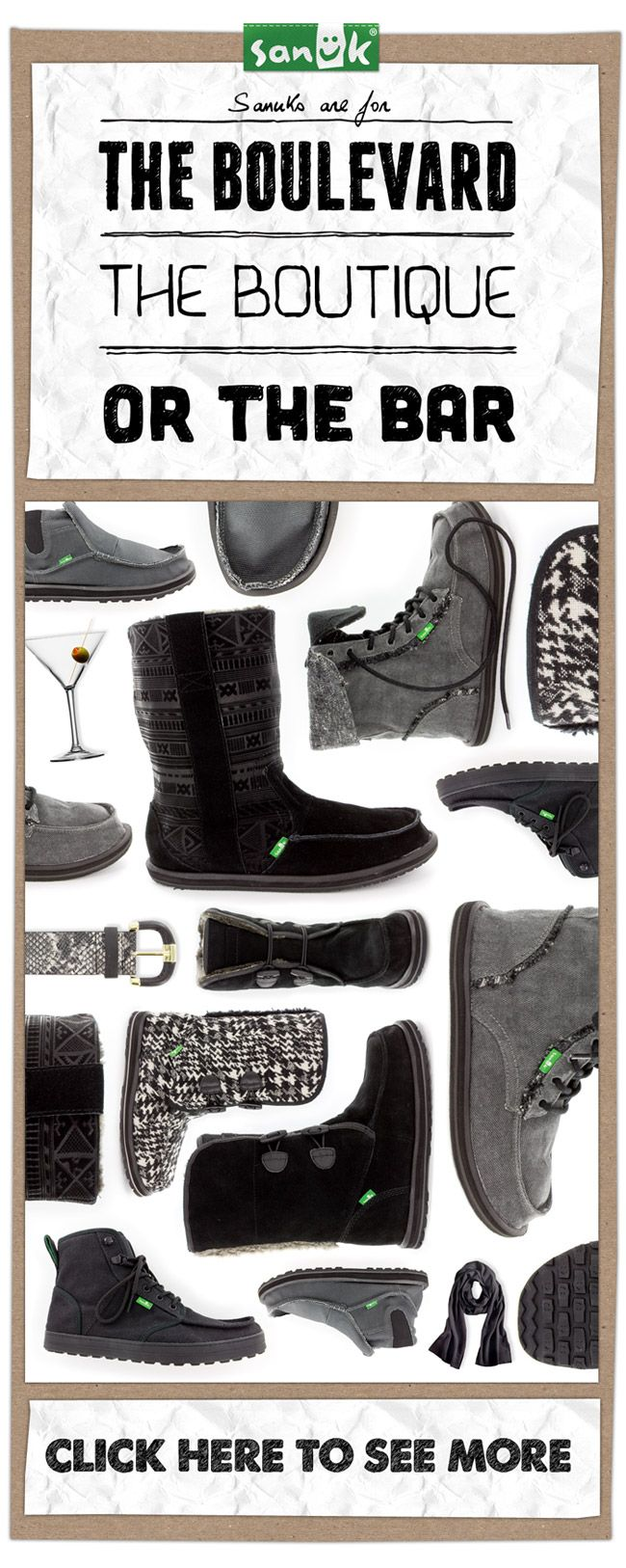 Enter to WIN Your Favorite Pair From SANUK Footwear #giveaway