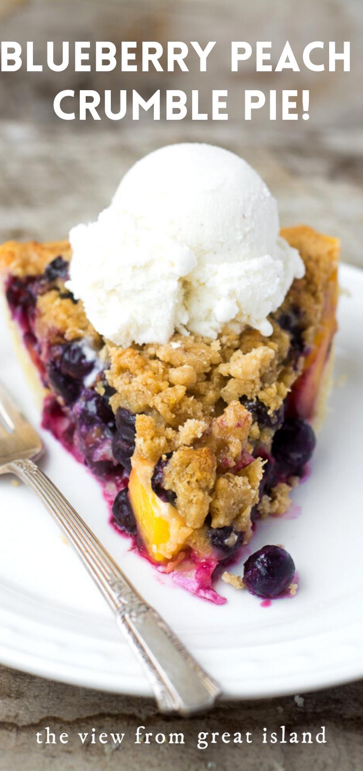 Blueberry Peach Pie Recipe