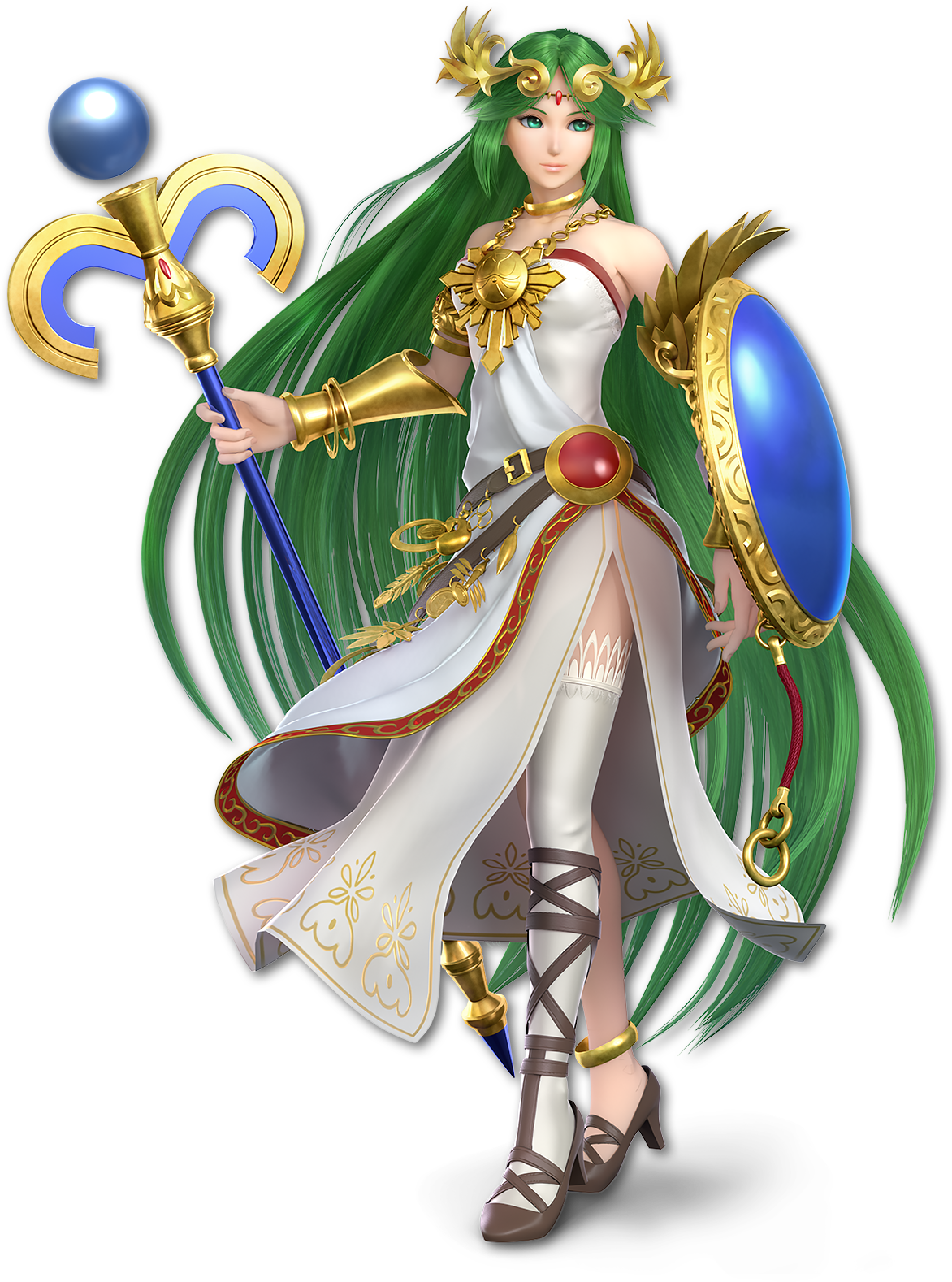 Palutena As She Appears In Super Smash Bros Ultimate
