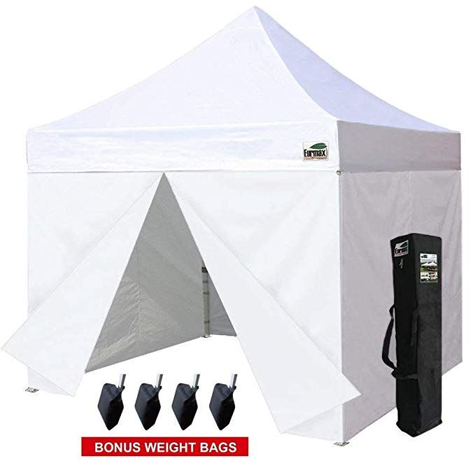 Eurmax Basic 10x10 Ez Pop Up Canopy Tent Entry Commercial