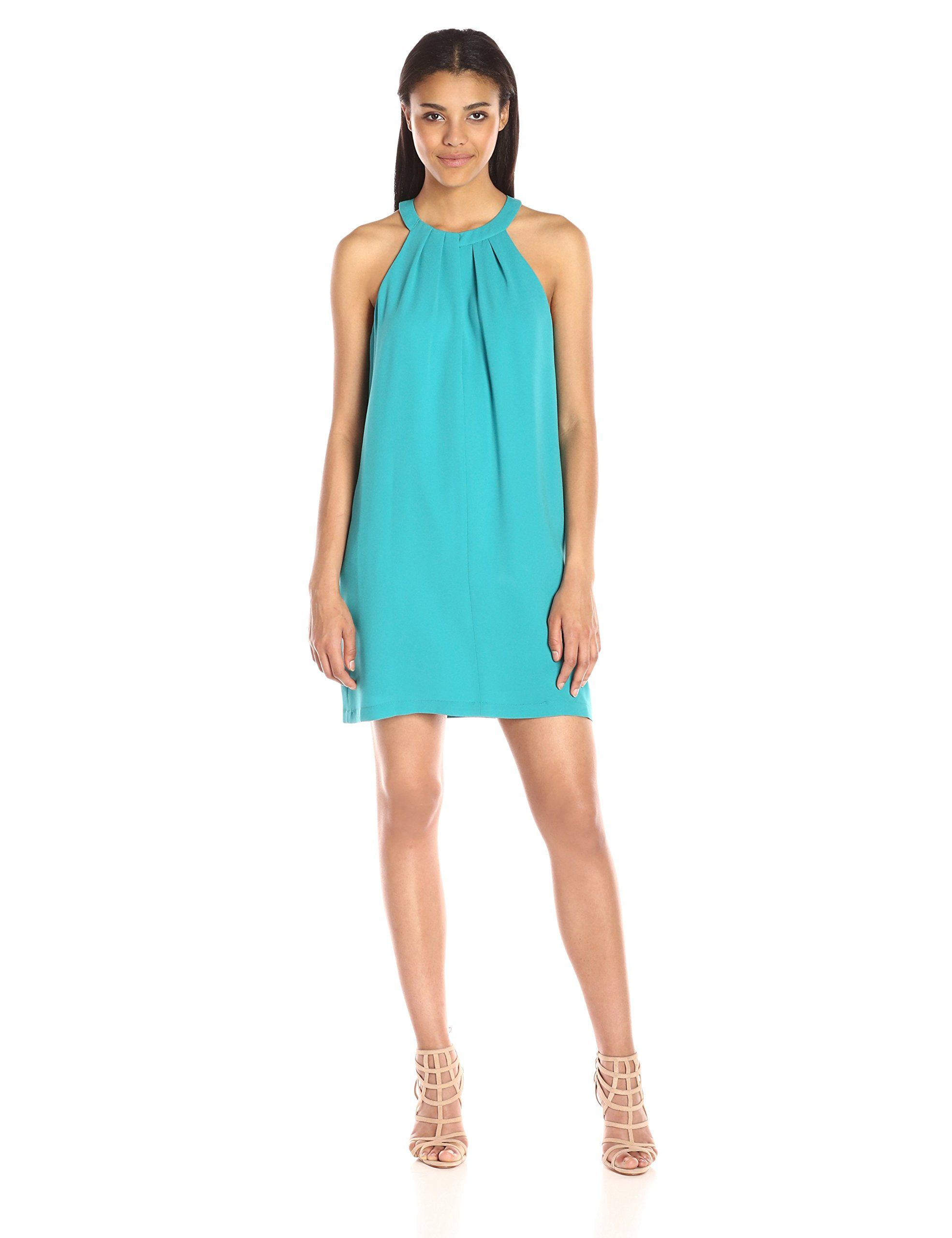 Bcbgmax azria womenus trisytn short halter dress with key hole
